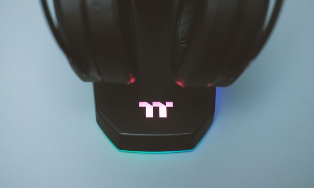 Review | Thermaltake E1 RGB Gaming Headset Stand