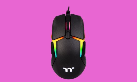 Thermaltake Launches Ambidextrous Level 20 Gaming Mouse