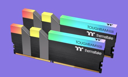 Thermaltake Launches TOUGHRAM RGB DDR4 Memory Kits