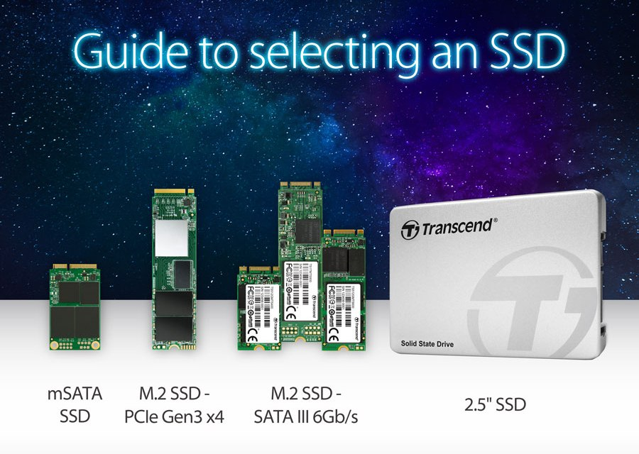 Transcend Guides Us Into Selecting an SSD