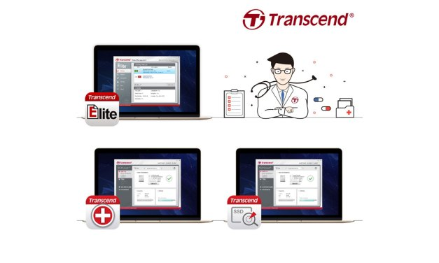Transcend Presents Exclusive Elite, RecoveRx, and SSD Scope Software Suite