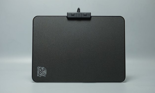Review | Tt eSports Draconem RGB Touch Edition Gaming Mouse Pad
