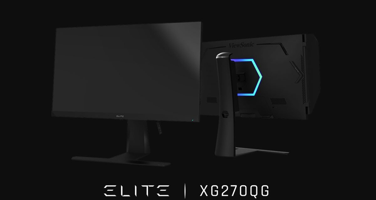 ViewSonic Introduces The ELITE Gaming Monitors