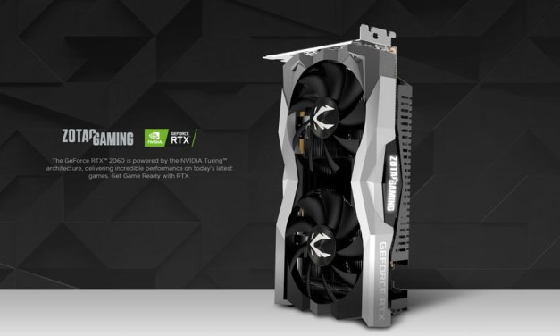 ZOTAC Releases GeForce RTX 2060 Graphics