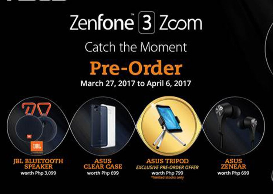 ASUS ZENFONE 3 ZOOM Pre-Order Goes Live