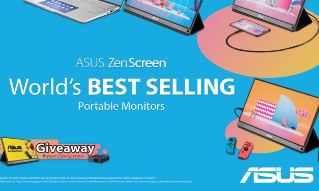 ASUS ZenScreen Now The World's Bestselling Portable Monitor Series