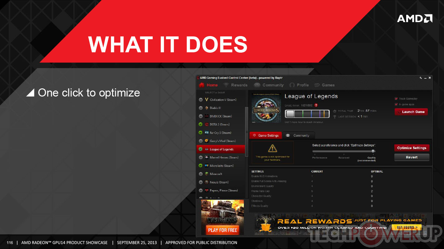 Gaming Evolved Now Powered By Raptr Redline Tech Blog