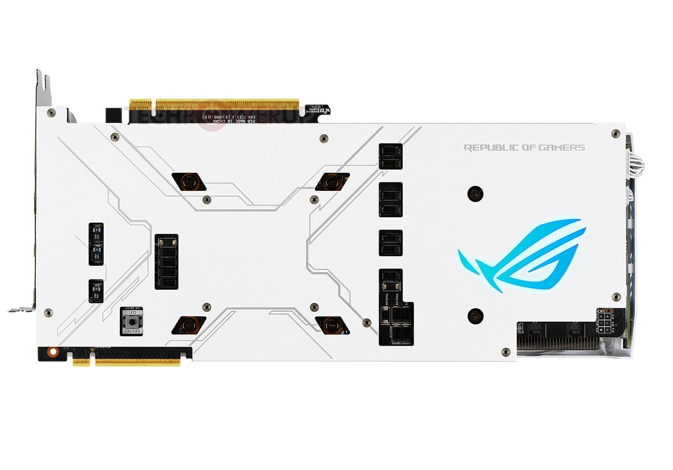 Asus Formally Launches Rog Strix Rtx Ti White Edition