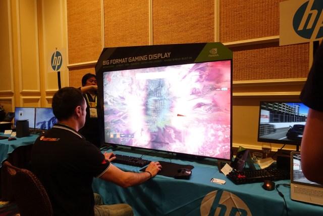 QLBUZpwLKcpjdLBJ After Nvidia, HP rolls out its Omen X 65 Big Format Gaming Display (BFGD)