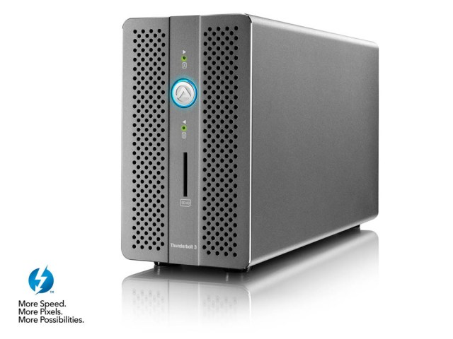 qnFsLDRYkQXNL9nk Akitio to release its Thunder 3 RAID Station with two 2TB Seagate Iron Wolf Pro hard drives