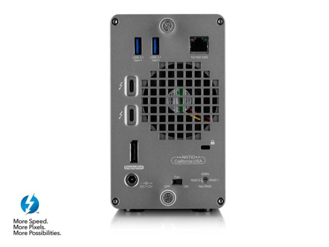 xH9BKdZknchCvXr6 Akitio to release its Thunder 3 RAID Station with two 2TB Seagate Iron Wolf Pro hard drives