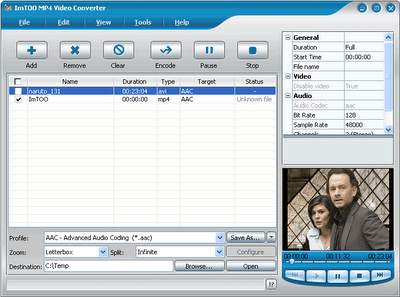 imtoo 3gp video converter sur 01net
