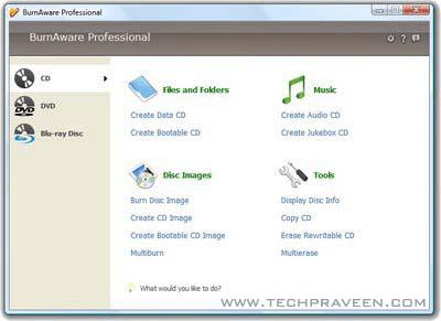 BurnAware Professional 2.1