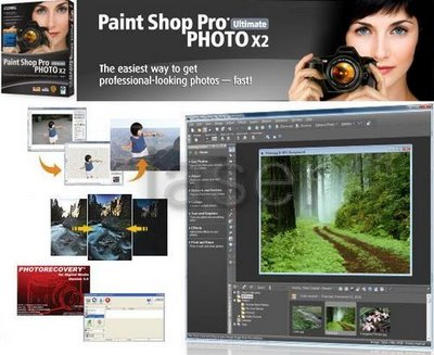 Corel Paint Shop Pro Photo X2 Ultimate 12.5