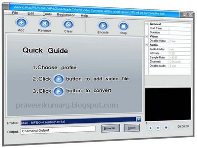 Amond iPod Video Converter v3.1.1