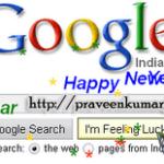Google New Year Easter Egg For 2010