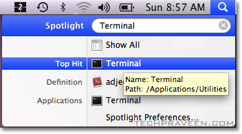 Search Applications in your Mac