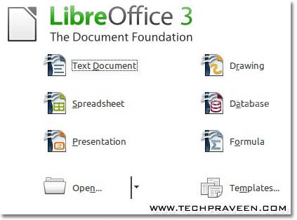 LibreOffice 3.3 - Best Alternative to OpenOffice