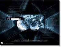 World Treminal Logon Screen