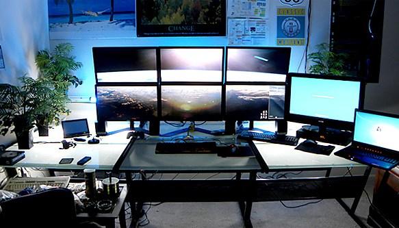 Wicked Multiple Desktop setups