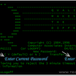 How To Change IBM Mainframe 3270 Terminal Password