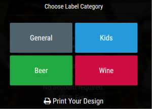 Labeley Categories
