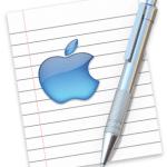 Mac TextEdit Application