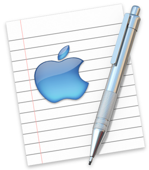 Mac TextEdit Application
