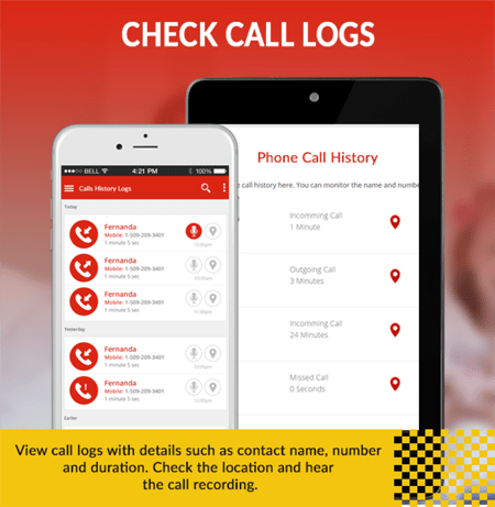 Check iPhone Call Logs