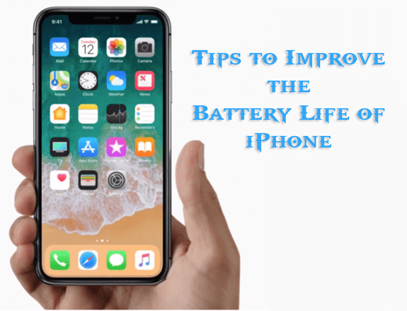 Improve iPhone Battery Life iOS