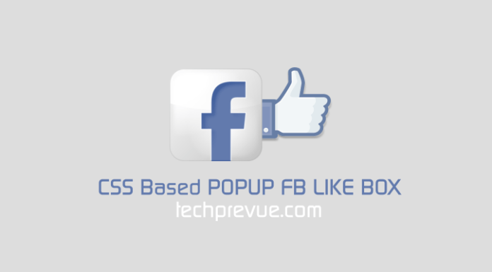 css popup fb like box