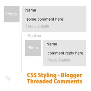 Blogger Comment Styling with CSS