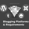 Blogging Platforms and Technical Requirements