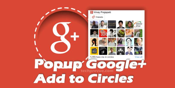 Add to Circles JS Popup widget