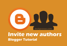 Blogger - Invite New Authors