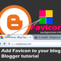 Custom Favicon for Blogger Blogs