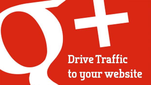 Drive traffic through Google Plus Profile