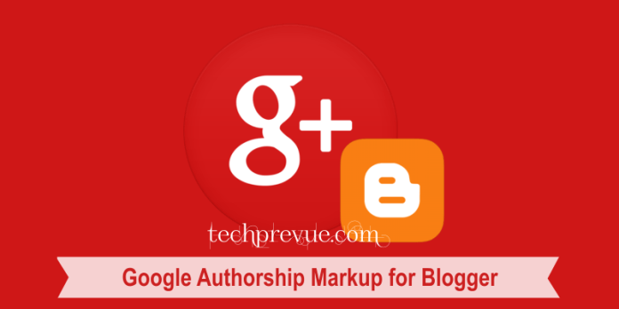 Google Authorship Markup for Blogger
