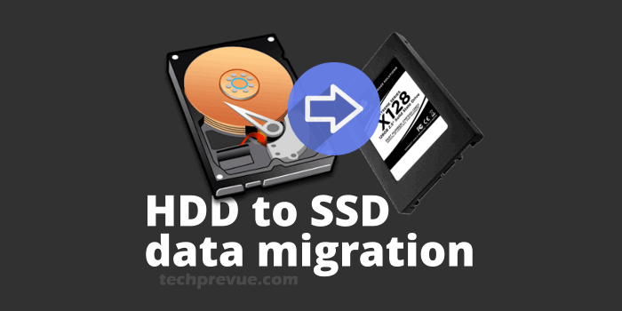 hdd to ssd data migration