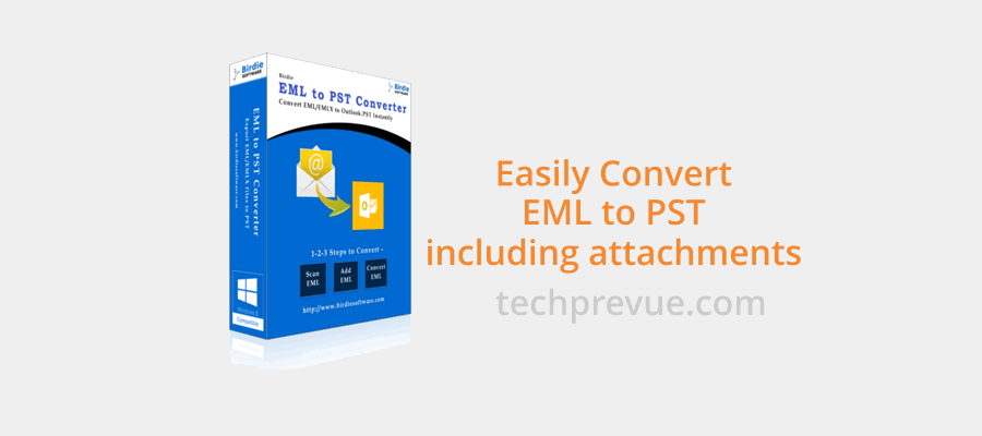 email clients - eml to pst