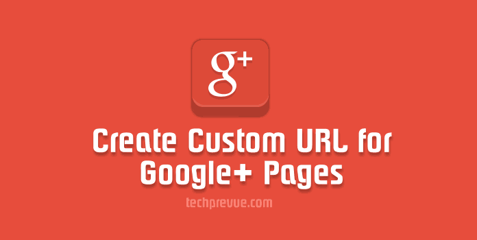 custom url for google plus pages