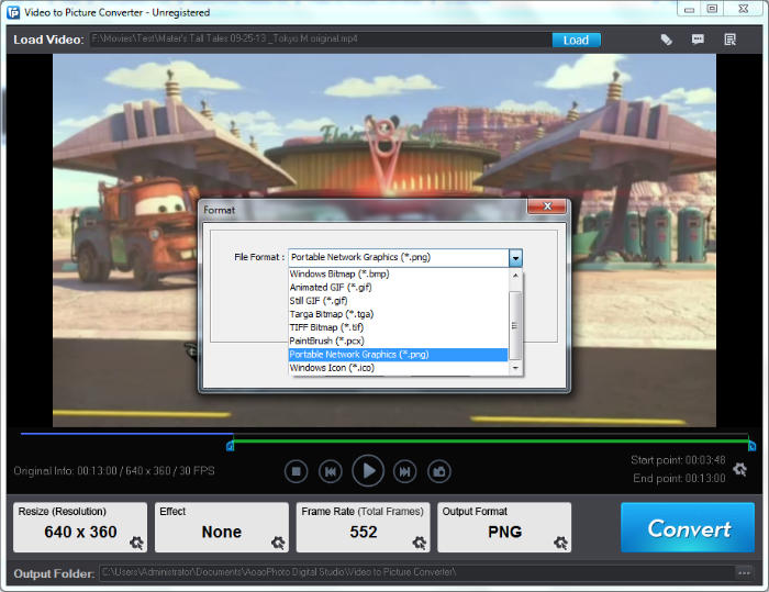 aoao video to picture converter