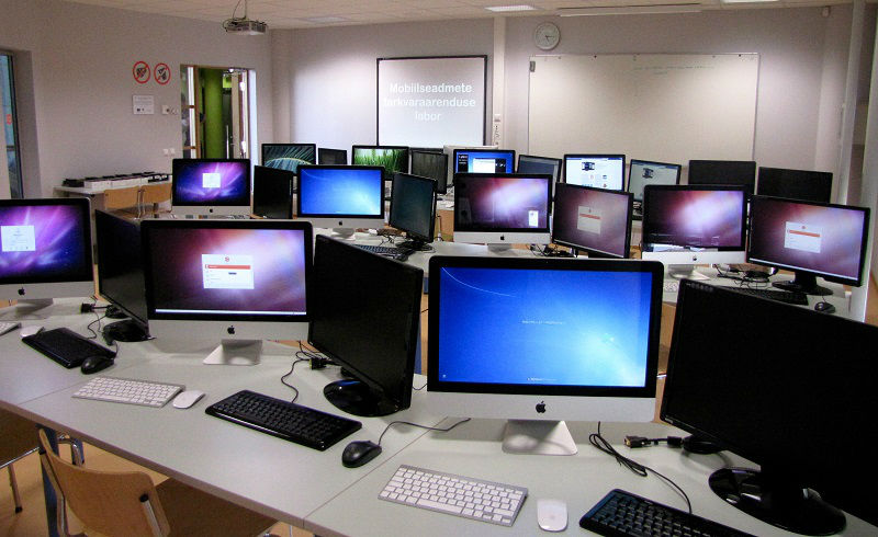 Mobile software development laboratory in The Estonian Information Technology College