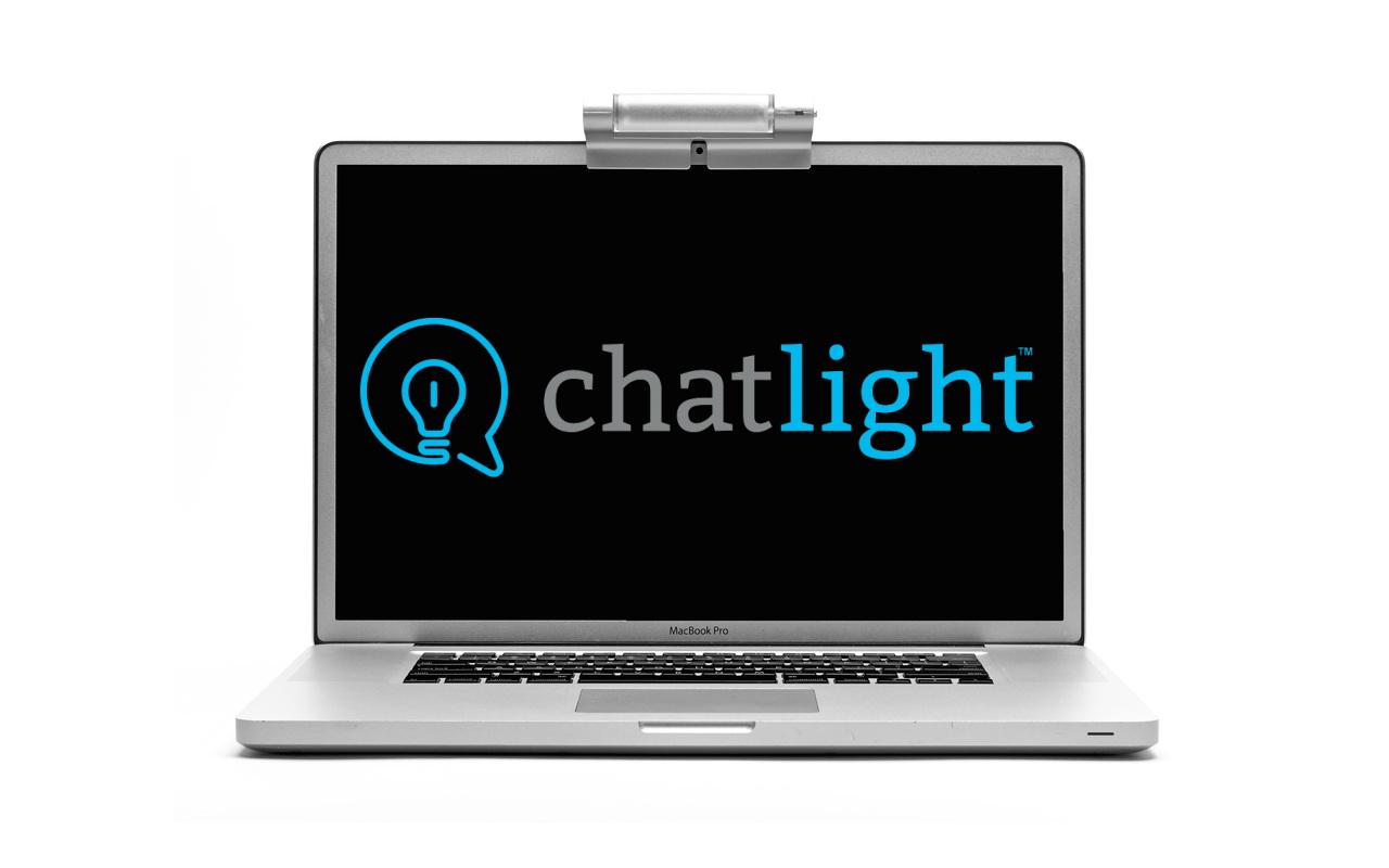 Chatlight Skype lighting for Video Chat