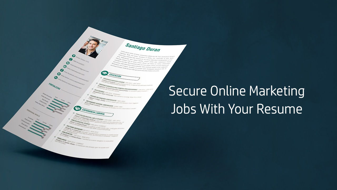 Marketing Jobs With Your Resume