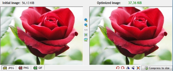 Use Optimized images