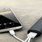 Powerbank charging mobile