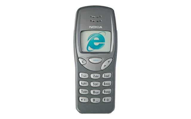 Nokia retro mobile phone