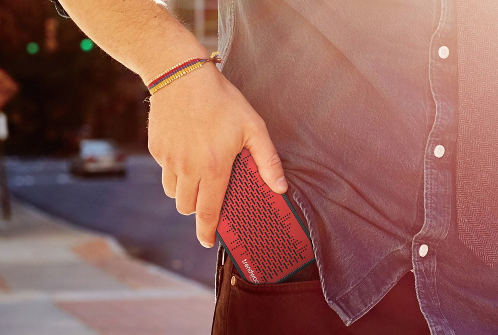 Trendwoo pocket bluetooth speaker - Battery