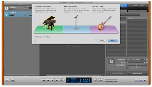 MIDI editing and Virtual Instruments